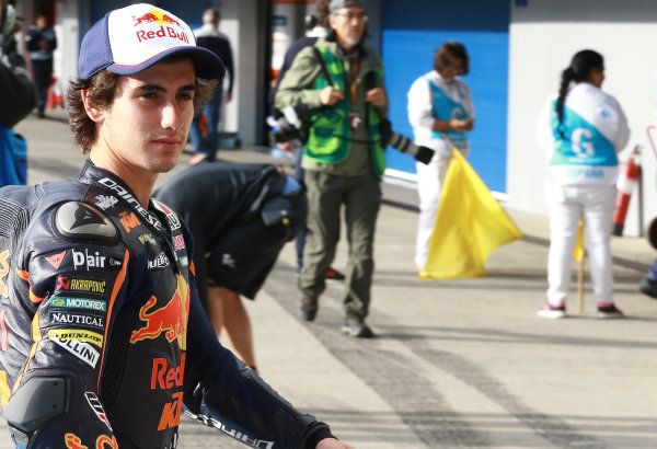 2017 Moto3 Championship - Round 4 Jerez, Spain Friday 5 May 2017 Niccolo Antonelli, Red Bull KTM Ajo World Copyright: Gold & Goose Photography/LAT Images ref: Digital Image 667765