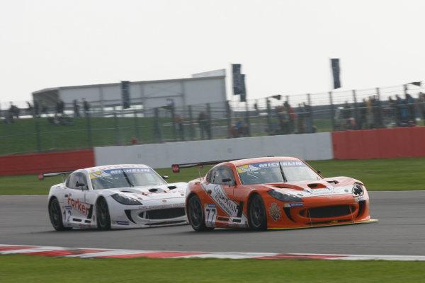 2013 Ginetta GT Supercup,Silverstone, Northants, 28th-29th Septemver 2013,Mark Davies (GBR) TCR Ginetta G55World Copyright. Jakob Ebrey/LAT Photographic