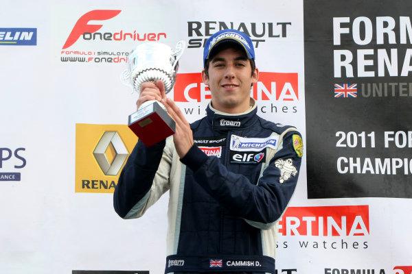 Silverstone, Northamptonshire. 14th - 16th October 2011.Daniel Cammish (GBR) Mark Burdett Motorsport Formula Renault.World Copyright: Ebrey/LAT Photographic.