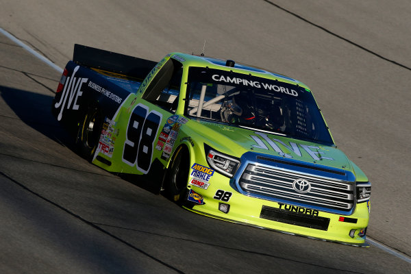 NASCAR Camping World Truck Series TheHouse.com 225 Chicagoland Speedway, Joliet, IL USA Thursday 14 September 2017 Grant Enfinger, Jive Toyota Tundra World Copyright: Lesley Ann Miller LAT Images