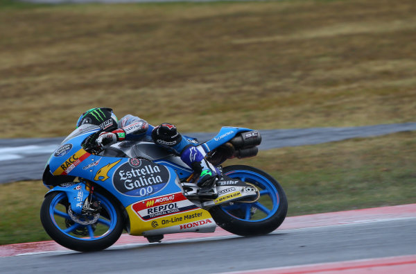 2017 Moto3 Championship - Round 13 Misano, Italy. Sunday 10 September 2017 Enea Bastianini, Estrella Galicia 0,0 World Copyright: Gold and Goose / LAT Images ref: Digital Image 7865