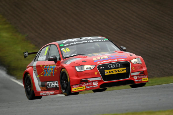 2017 British Touring Car Championship, Knockhill, Scotland. 12th-13th August 2017, Ant Whorton-Eales (GBR) AmDtuning.com with Cobra Exhausts Audi S3 World copyright. JEP/LAT Images