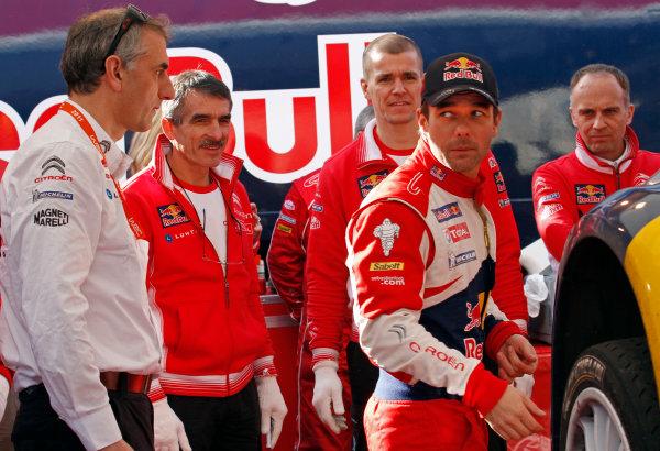 Round 01-Rally Monte Carlo 17-22 January 2012. Sebastien Loeb, Citroen WRC, PortraitWorldwide Copyright: McKlein/LAT