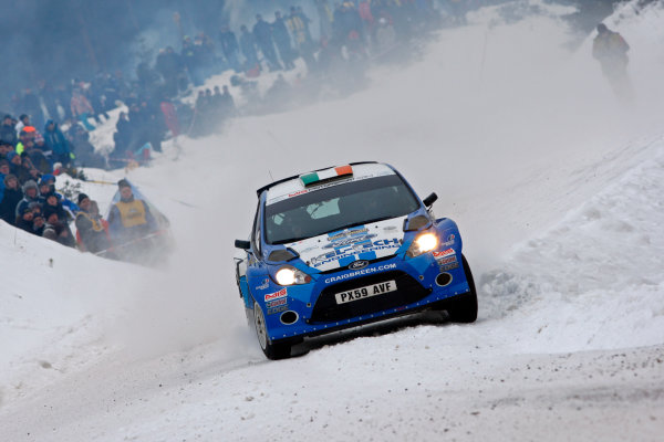 Round 02 - Rally Sweden 09-12 February 2012. Craig Breen, Ford S2000, Action.  Worldwide Copyright: McKlein/LAT