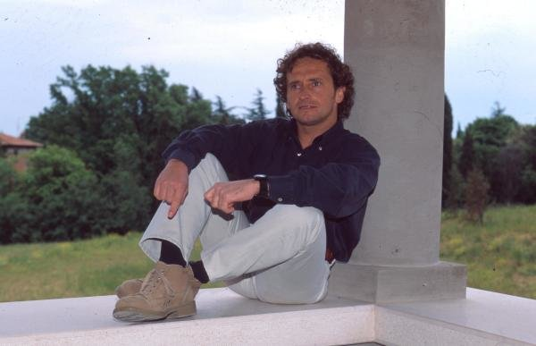 Pier Luigi Martini at home in Lavezzola, Italy.