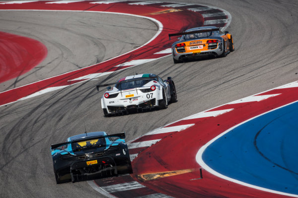 4-6 March, 2016, Austin, Texas USA A line of cars races through a turn ?2016, Brian Cleary LAT Photo USA