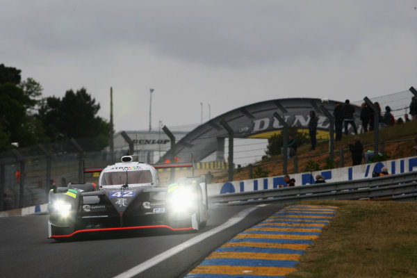 2015 Le Mans 24 Hours Test Day, Le Mans, France. 31st May 2015. Nick Leventis / Danny Watts / Jonny Kane Strakka Racing Strakka Dome S103 Nissan. World Copyright: Ebrey / LAT Photographic.