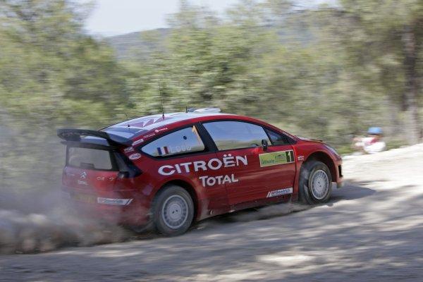 2007 FIA World Rally ChampionshipRound 8Acropolis Rally Greece31 May-3 Jun 2007Sebastien Loeb, Citroen, Action.Worldwide Copyright: McKlein/LAT