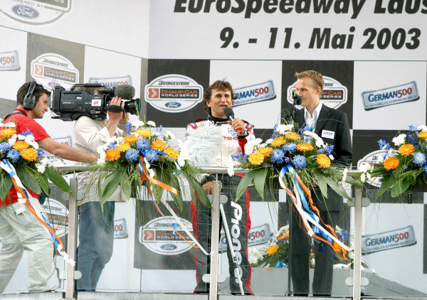 2003 ChampCar World Series, German 500, EuroSpeedway Lausitz, Germany. 10-11th May 2003.