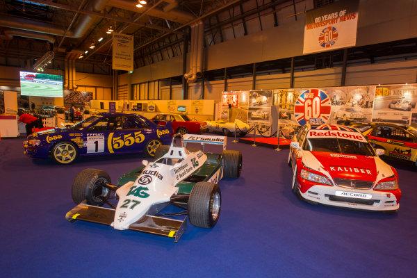 Autosport International Exhibition. National Exhibition Centre, Birmingham, UK. Thursday 8 January 2015. The Williams FW06 of Alan Jones on the Motorsport News stand. World Copyright: LAT Photographic. ref: Digital Image EL0G1842