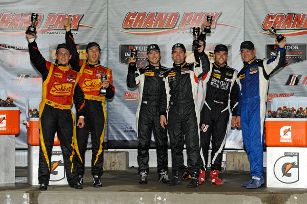 6-7 June, 2014, Kansas City, Kansas USA ST podium: 2nd 42, Porsche, Cayman, ST, Wayne Nonnamaker, Will Nonnamaker 1st 93, Honda, Civic Si, ST, Chad Gilsinger, Michael Valiante3rd 87, Porsche, Cayman, ST, Charles Espenlaub, Corey Lewis ?2014, F. Peirce Williams LAT Photo USA