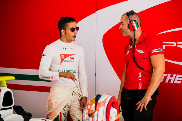 2017 FIA Formula 2 Round 4. Baku City Circuit, Baku, Azerbaijan. Friday 23 June 2017. Antonio Fuoco (ITA, PREMA Racing)  Photo: Zak Mauger/FIA Formula 2. ref: Digital Image _56I6725