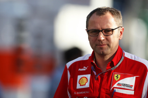 Stefano Domenicali (ITA) Ferrari General Director. Formula One World Championship, Rd5, Spanish Grand Prix, Preparations, Barcelona, Spain, Thursday 10 May 2012.