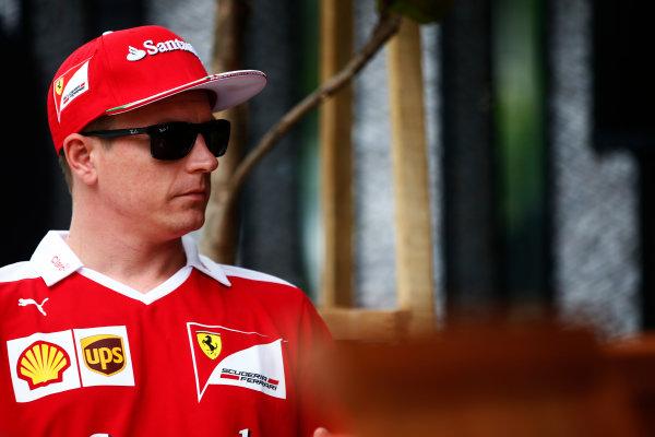 Sepang International Circuit, Sepang, Malaysia. Thursday 29 September 2016. Kimi Raikkonen, Ferrari. World Copyright: Andy Hone/LAT Photographic ref: Digital Image _ONY9138