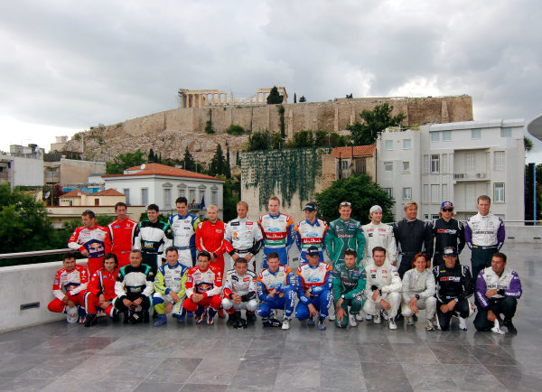 Round 07 Acropolis Rally. 16th - 19th June 2011.WRC drivers, Portrait. Worldwide Copyright: McKlein/LAT