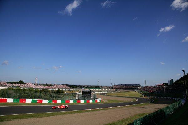 2006 Japanese Grand Prix - Sunday Race,  Suzuka, Japan. Felipe Massa, Ferrari 248 F1; action. 8th October 2006  World Copyright: Steve Etherington/LAT Photographic  ref: 48mb Hi Res Digital Image Only