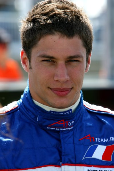 21.01 2007 Taupo, New Zealand, Loic Duval, Driver of A1Team France - A1GP World Cup of Motorsport 2006/07, Round 6, Taupo, Sunday Race 1 - Copyright A1GP - Free for editorial usage