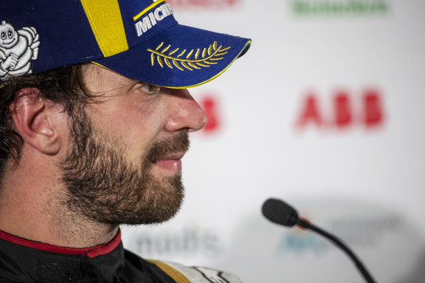Jean-Eric Vergne (FRA), DS Techeetah, 2nd position, in the Press Conference