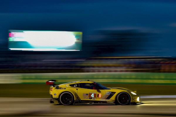 #4 Corvette Racing Corvette C7.R, GTLM: Oliver Gavin, Tommy Milner, Marcel Fassler