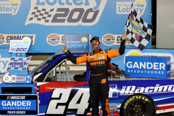 Race winner Chase Elliott, GMS Racing Chevrolet iRacing Copyright: Jared C. Tilton/Getty Images
