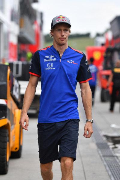 Brendon Hartley (NZL) Scuderia Toro Rosso