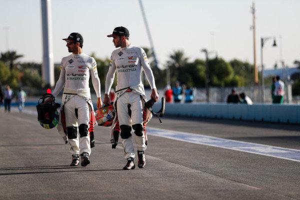 Lucas Di Grassi (BRA), Audi Sport ABT Schaeffler andDaniel Abt (DEU), Audi Sport ABT Schaeffler
