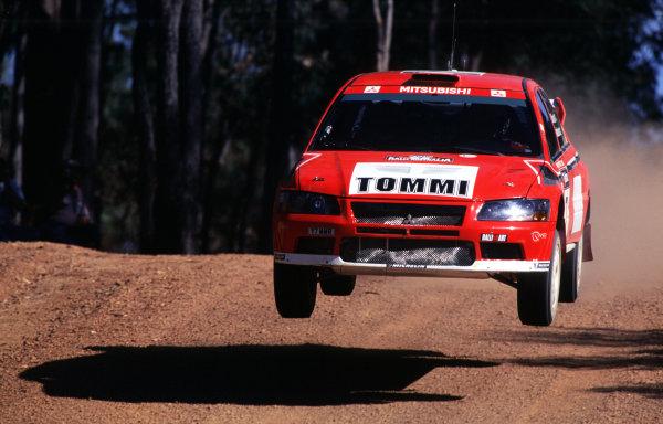 2001 World Rally ChampionshipRally Australia, WRC. 1st - 4th NovemberTommi Makinen.World Copyright - McKlein / LAT PhotographicRef: 35mm Image A05