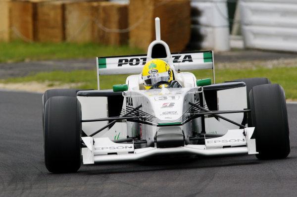 2002 Formula Nippon ChampionshipRalf Firman JrSuzuka, Japan. 8th July 2002World Copyright - Yasushi Ishihara/LAT Photographicref: digital file only