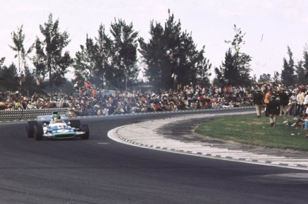 1970 Mexican Grand Prix.Mexico City, Mexico.23-25 October 1970.Henri Pescarolo (Matra-Simca MS120) 9th position.Ref-70 MEX 35.World Copyright - LAT Photographic