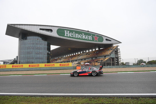 Francis Tjia (NED) OpenRoad Racing at Porsche Carrera Cup Asia, Shanghai, China, 13-15 April 2018.