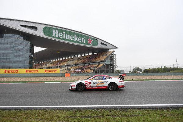 Will Bamber (NZL) Earl Bamber Motorsport at Porsche Carrera Cup Asia, Shanghai, China, 13-15 April 2018.