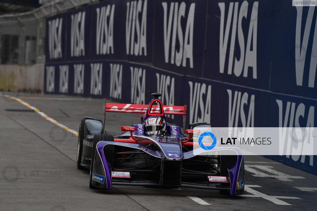 2017/2018 FIA Formula E Championship. Round 1 - Hong Kong, China. Saturday 02 December 2018. Alex Lynn (GBR), DS Virgin Racing, DS Virgin DSV-03. Photo: Mark Sutton/LAT/Formula E ref: Digital Image DSC_8297