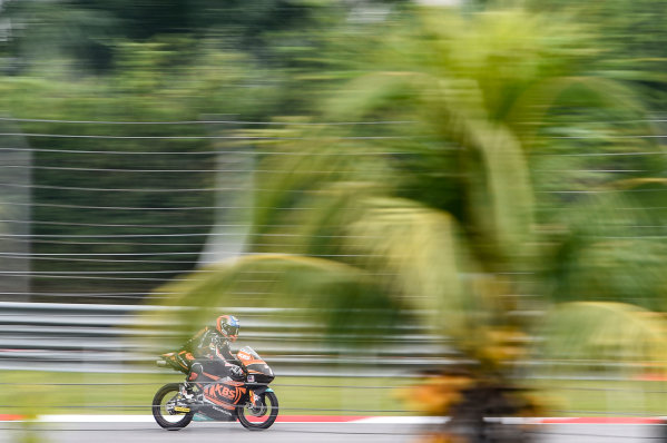 2017 Moto3 Championship - Round 17 Sepang, Malaysia. Friday 27 October 2017 Adam Norrodin, SIC Racing Team World Copyright: Gold and Goose / LAT Images ref: Digital Image 25074