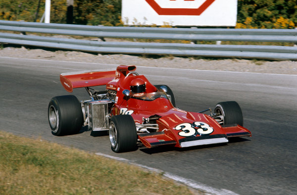 1972 Canadian Grand Prix.  Mosport, Canada. 22-24th September 1972.  Skip Barber, March 711 Ford.  Ref: 72CAN20. World Copyright: LAT Photographic
