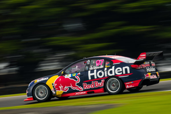 2017 Supercars Championship Round 3.  Phillip Island 500, Phillip Island, Victoria, Australia. Friday 21st April to Sunday 23rd April 2017. Shane Van Gisbergen drives the #97 Red Bull Holden Racing Team Holden Commodore VF. World Copyright: Daniel Kalisz/LAT Images Ref: Digital Image 210417_VASCR3_DKIMG_0666.JPG