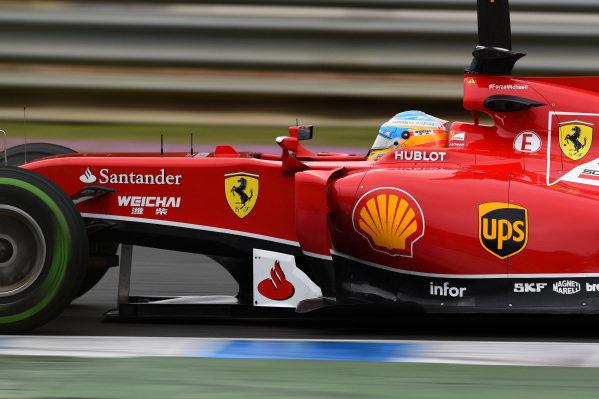 Fernando Alonso (ESP) Ferrari F14 T. Formula One Testing, Jerez, Spain, Day Four, Friday 31 January 2014.