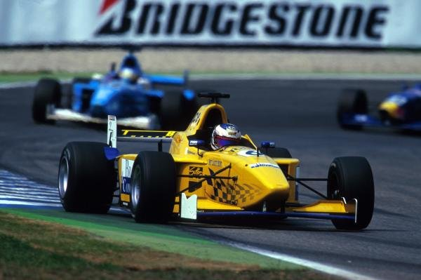Giorgio Pantano (ITA) Team Astromega stormed through the field after a poor qualifying performance to finish in seventh place. 