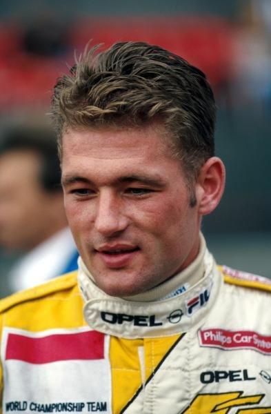 Race winner Jos Verstappen (NED) Dallara Opel was a convincing series champion.German Formula Three Championship, Avus, Germany, 12 September 1993.