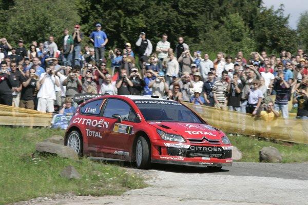 FIA World Rally Championship 2007Round 10Rally Deutschland, Germany.Trier, Germany.16th - 19th August 2007Sebastien Loeb, Citroen, action.Worldwide Copyright: McKlein/LAT