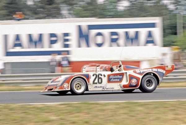 1977 Le Mans 24 Hours.Le Mans, France. 11th - 12th June 1977.Michel Pignard/Albert Dufrene/Jacques Henry, Chevron B36, 6th position, action.World Copyright: LAT Photographicref: 35mm Transparency Image
