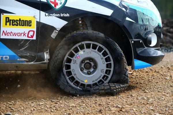 2017 Prestone MSA British Rally Championship,  Pirelli International Rally, Carlisle. 29th - 30th April 2017. Nabia Tepjar / Charlie Sayer-Payne Ford Fiesta R2. World Copyright: JEP / LAT Images.