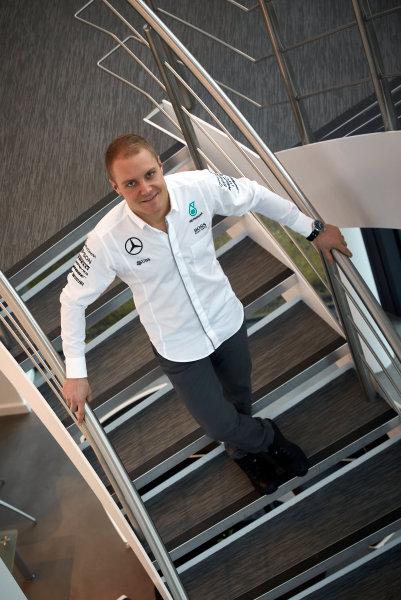 Mercedes F1 Driver Announcement Mercedes AMG Factory, Brackley, UK Monday 16 January 2017 Valtteri Bottas is announced as the new Mercedes AMG F1 driver for 2017. World Copyright: Steve Etherington/LAT Photographic ref: Digital Image SNE11841