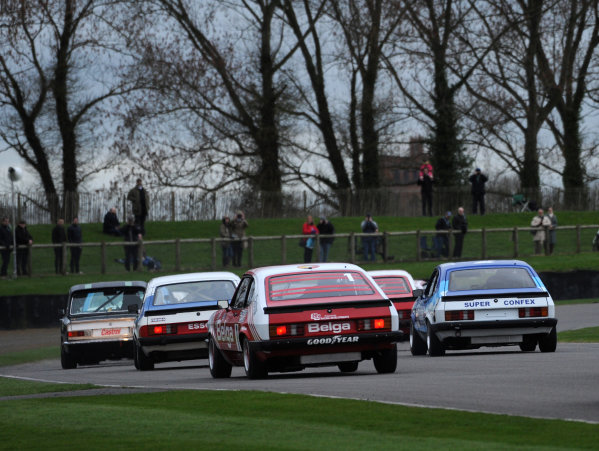2017 75th Members Meeting Goodwood Estate, West Sussex,England 18th - 19th March 2017 Gerry Marshall Trophy Ravaglia Vickers Capri World Copyright : Jeff Bloxham/LAT Images Ref : Digital Image