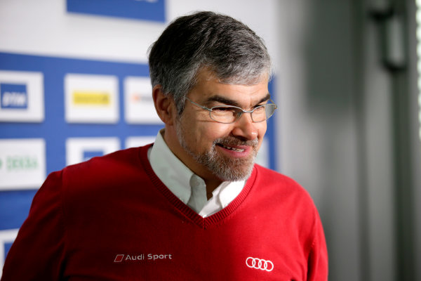 2017 DTM Testing & Media Day Hockenheim, Germany. Thursday 6 April 2017. Dieter Gass, Head of DTM Audi Sport. World Copyright: Alexander Trienitz/LAT Images ref: Digital Image 2017-DTM-MD-HH-AT1-0137