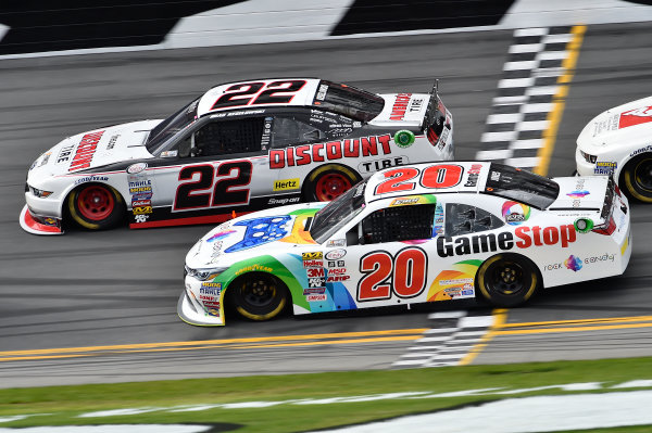 20-21 February, 2015, Daytona Beach, Florida USA Brad Keselowski, Erik Jones, Game Stop Toyota Camry ?2015, John Harrelson / LAT Photo USA