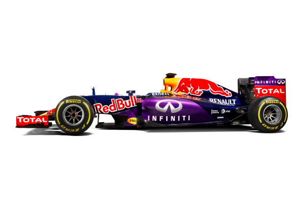Infiniti Red Bull Racing RB11 Studio Images. Milton Keynes, UK. Sunday 1 March 2015. The Red Bull Racing RB11. Photo: Red Bull Racing (Copyright Free FOR EDITORIAL USE ONLY) ref: Digital Image RB11_LIVERY_09