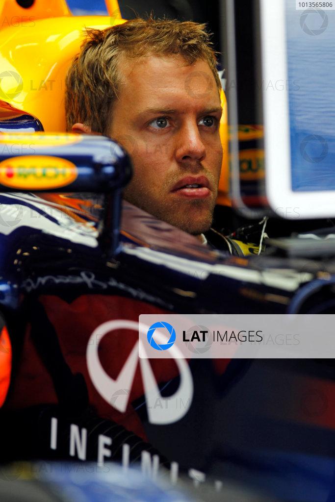 Silverstone, Northamptonshire, England8th July 2011Sebastian Vettel, Red Bull Racing RB7 Renault. Portrait. World Copyright:Steven Tee/LAT Photographicref: Digital Image _A8C0229