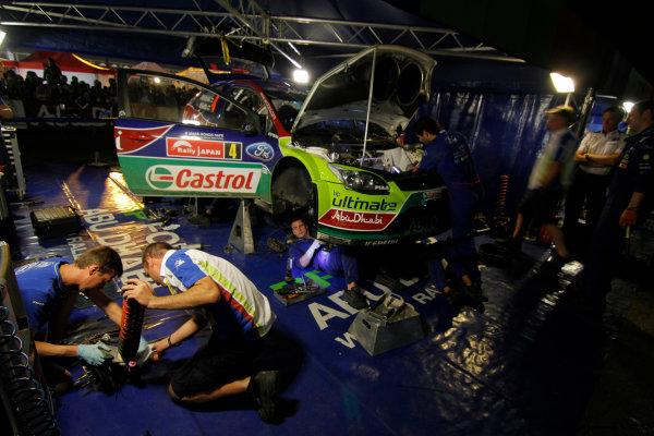 Service Ford WRC, 2010 FIA World Rally Championship Round 10 Rally Japan 9-12/9 2010 Worldwide Copyright: McKlein/LAT