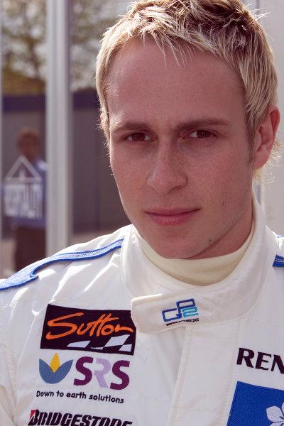2005 GP2 Series - ImolaAutodromo Enzo e Dino Ferrari, Italy. 21st - 24th April.Thursday Preview.Adam Carroll (GB, Super Nova International). Portrait.Photo: GP2 Series Media Serviceref: Digital Image Only.