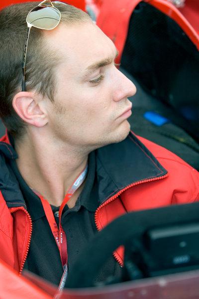 2005 GP2 Series - ImolaAutodromo Enzo e Dino Ferrari, Italy. 21st - 24th April.Thursday Preview.Mathias Lauda (A, Coloni Motorsport). Portrait. Photo: GP2 Series Media Serviceref: Digital Image Only.